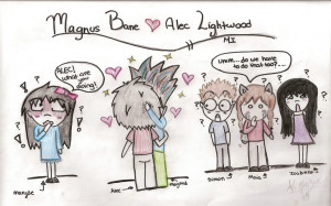 Alec and Magnus_The Mortal Instruments by Jessrabs99