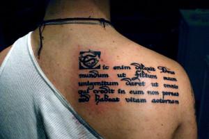 Scripture Tattoos - 6