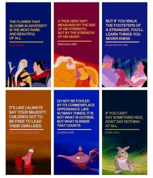Disney quotes to live by!