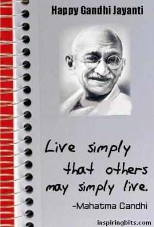 mahatma gandhi jayanti sms wallpaper quotes vedio essay article ...