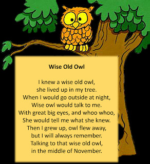 Rhyme: Wise OldOwl