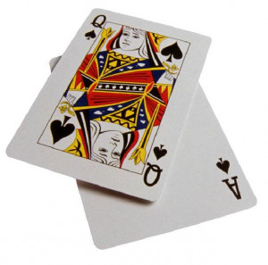 Queen Ace Spades Image