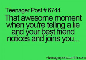 bff, funny, lie, lines, lol, quotes, quotes and sayings, teenager post