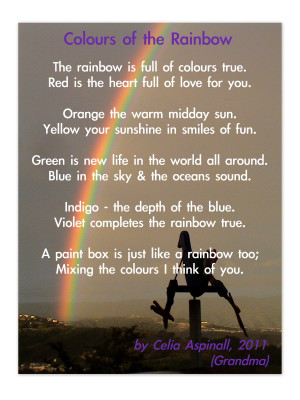 Hope you've had fun toying with colour in poetry this week. I found ...