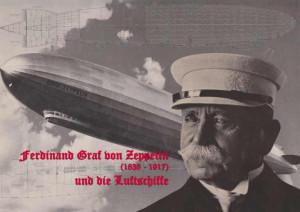 Ferdinand Graf Von Zeppelin 1838 1917 Und Die Luftschiffe picture
