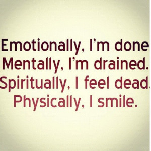 emotionally #done #mentally #drained #spiritually #dead #physically # ...