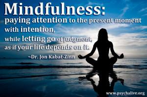 mindfulness quote jon kabat zinn