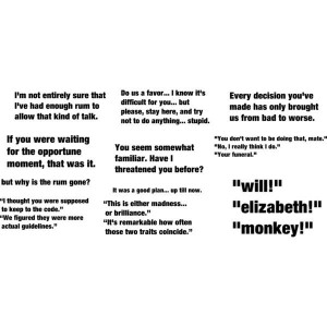 Pirates Of The Caribbean Quotes picture