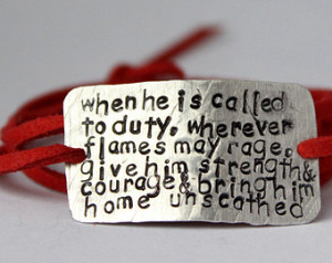 ... girlfriend jewelry, firefighter jewelry, firefighter prayer