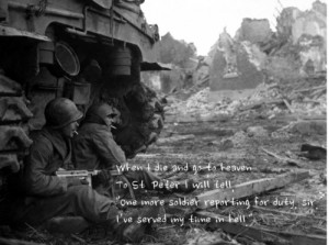 soldiers soldier quotes b&w