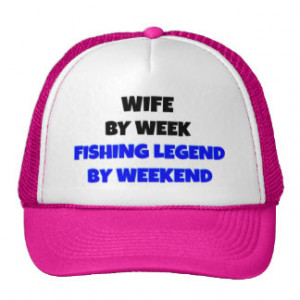 Fishing Legend Wife Trucker