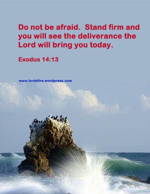 Exodus Bible Quotes