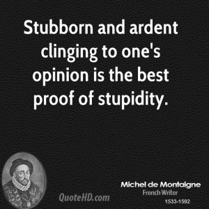 Funny Stubborn Quotes