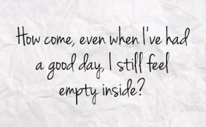 Feeling Empty Quotes Feeling Empty Inside Quotes