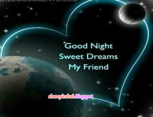 Good Night Sweet Dreams Quotes With Images | Cute Good Night Greetings ...