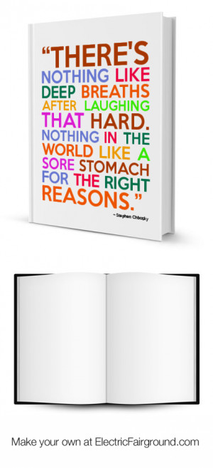 Stephen Chbosky Framed Quote