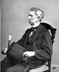 Portrait of Secretary of State William H. Seward, officer of the ...