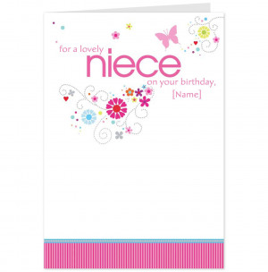 - Happy Birthday Sayings To A Friend Wishes For Cards Lovely Niece ...