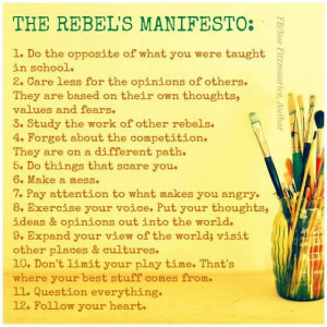 Rebel quotes