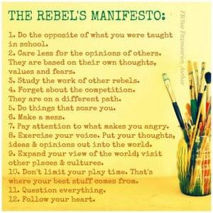 Rebel quotes