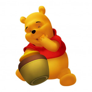Honey Pooh - Winnie The Pooh Picture