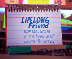 ... The Moment We Met I Knew You'd Become The One - Friendship Quote
