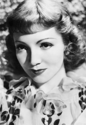 bridiequilty / # Claudette Colbert # gifset # quote
