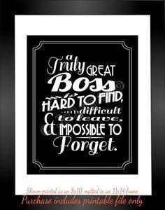 ... quotes! Gifts Boss, Gift Retirement Boss, Gift For Boss Leaving, Boss
