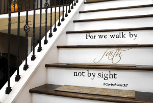 Phyllis Bailey has inspirational quotes painted throughout the Fort ...
