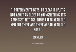 Man vs Boy Quotes