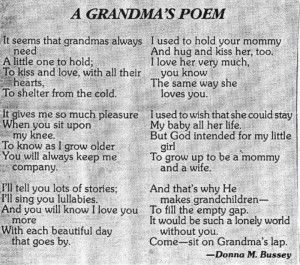 Grandmother and Grandson Quotes | Via Marilyn Sullivan
