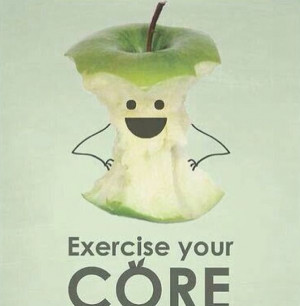 Hate the word Core, but loved this little image. haha