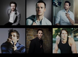Evan Peters james mcavoy Michael Fassbender lucas till nicholas hoult ...