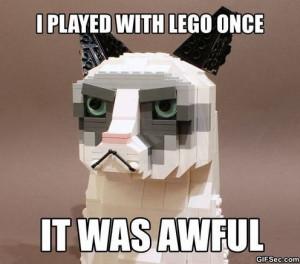 Funny – Grumpy Cat Lego