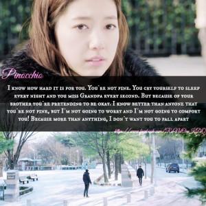 pinocchio #korean drama #kdrama