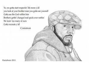 Common: rapper Lonnie Rashid Lynn Jr.