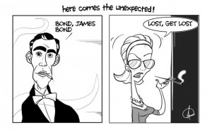 Evolution James Bond Funny Pictures