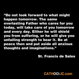Quote by St. Francis de Sales