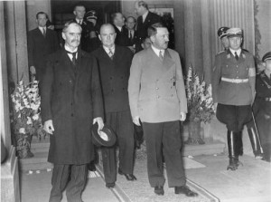 ... Chamberlain Quotes With A Meeting With Adolf Hitler Pre-World War Two