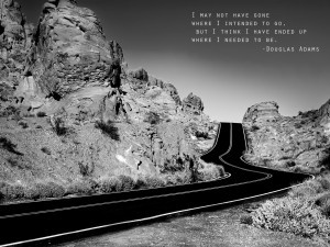 Motivational Quote on Journey and Destination