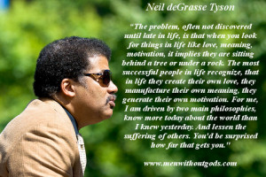"Neil deGrasse Tyson 's response on Reddit when asked ""What can ..."