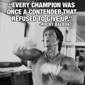 rocky inspirational quotes rocky balboa stallone quotes sayings ...