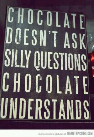 Love chocolate!