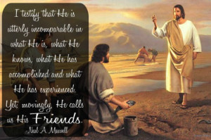 Jesus Christ is the Son of God. He was chosen before the world began ...
