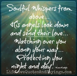 Soulful Whispers from above…