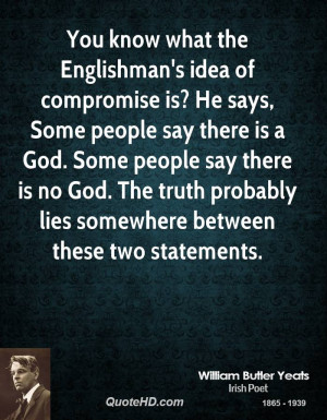 ... God. Some people say there is no God. The truth probably lies
