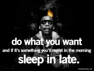 wiz khalifa quotes, best, sayings, sleep, late | Inspirational ...