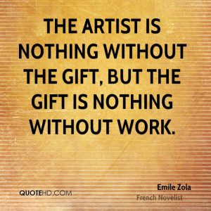 Emile Zola Work Quotes