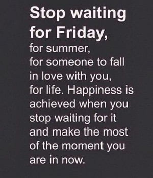 Stop waiting-just live quote