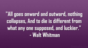 Setting walt whitman quote from notebook glancing